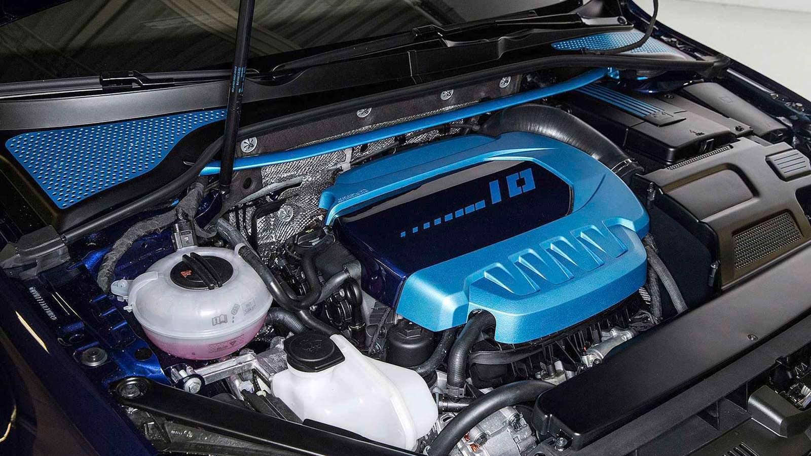410-сильный двигатель Volkswagen Golf GTI First Decade