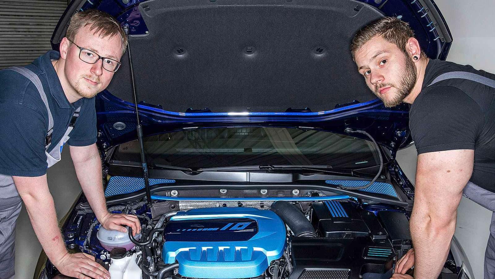 Гибридный двигатель Volkswagen мощностью 410-сил
