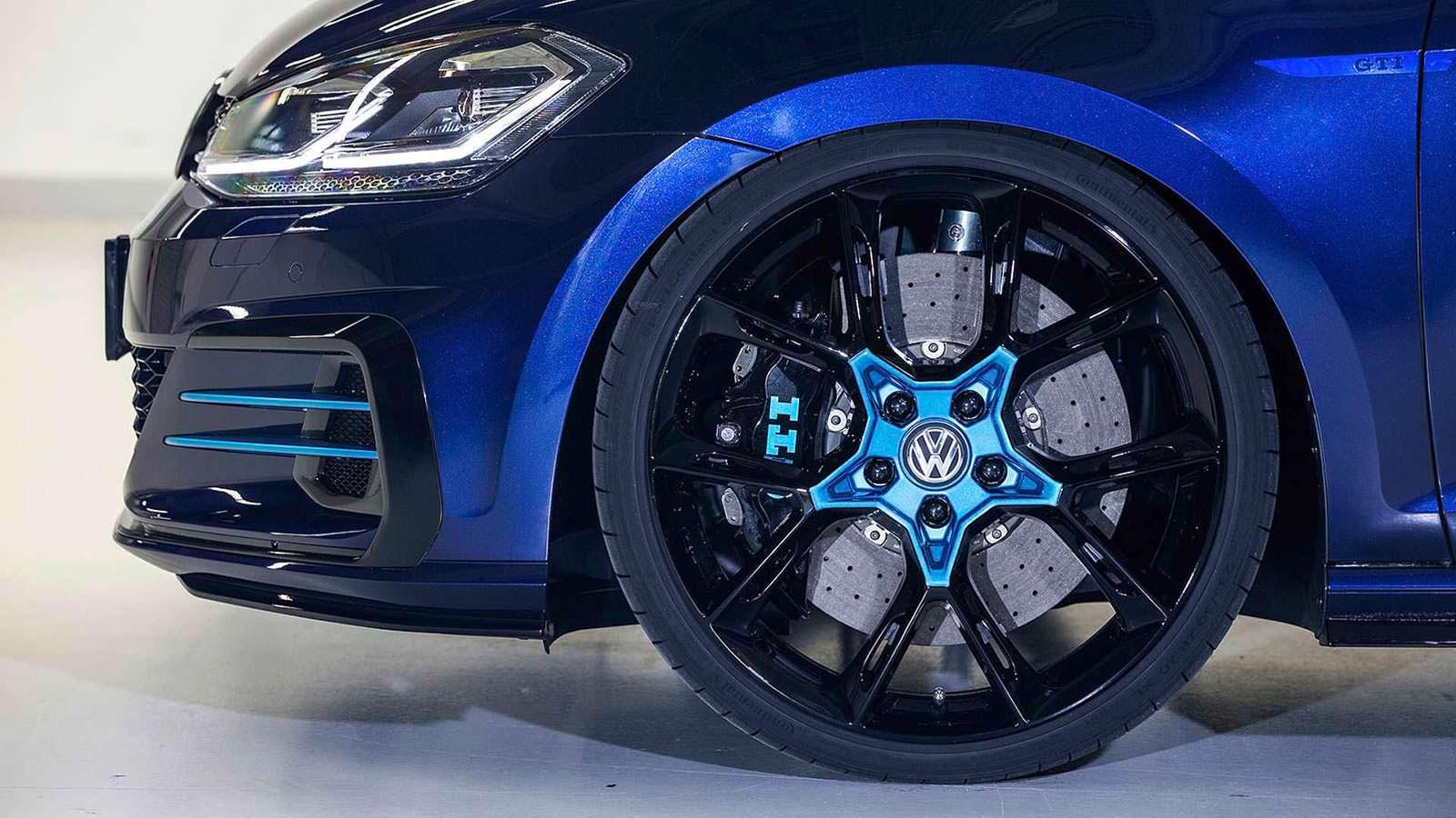 20-дюймовые колеса Golf GTI First Decade