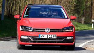 Дорожные испытания Volkswagen Polo нового поколения