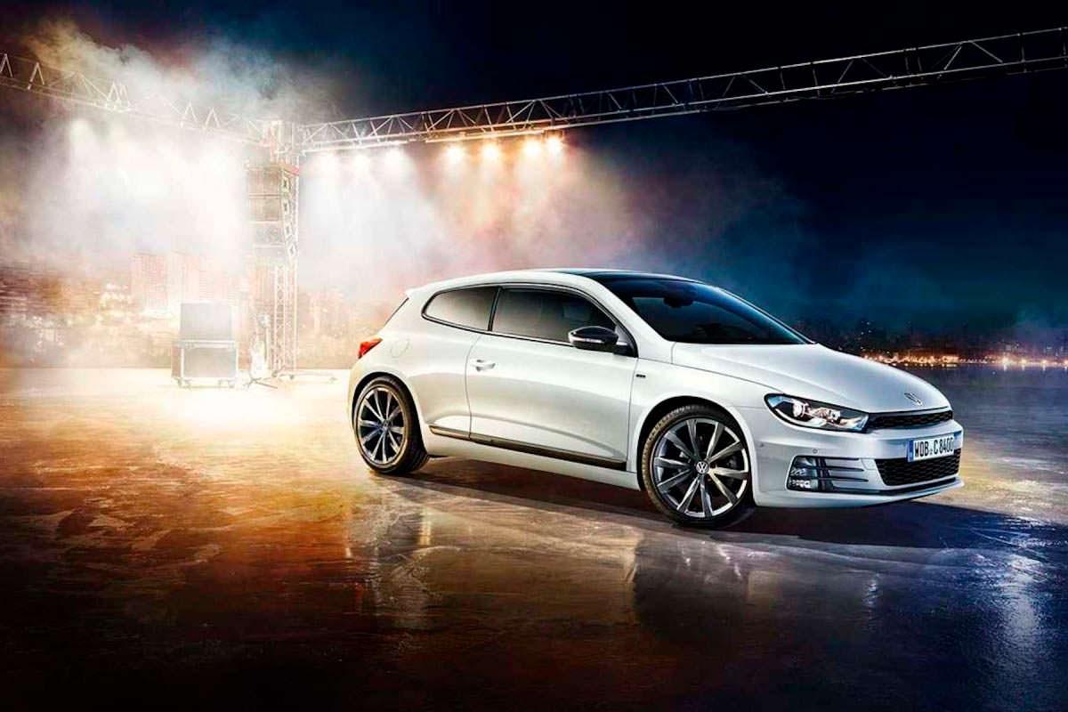 Производство Volkswagen Scirocco: 2054 шт. за 1-й квартал 2017 г