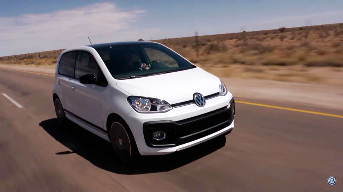 Volkswagen Up! GTI - самый маленький в семье GTI