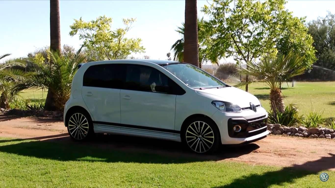 Горячий малыш Volkswagen Up! GTI