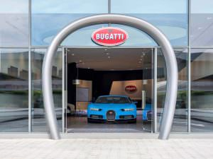 Самый большой салон Bugatti в Дубае, ОАЭ