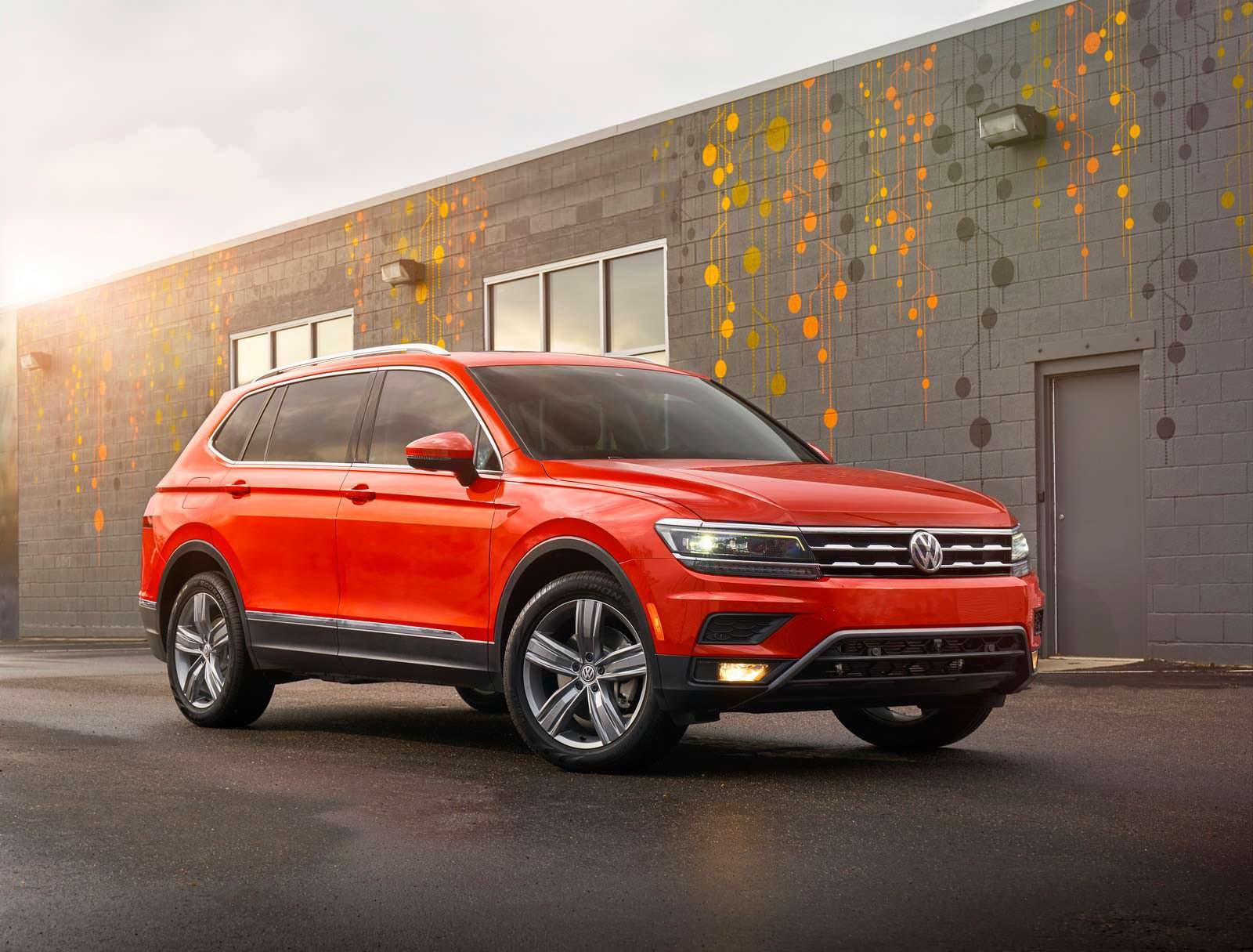 2018 Volkswagen Tiguan в США: продажи летом