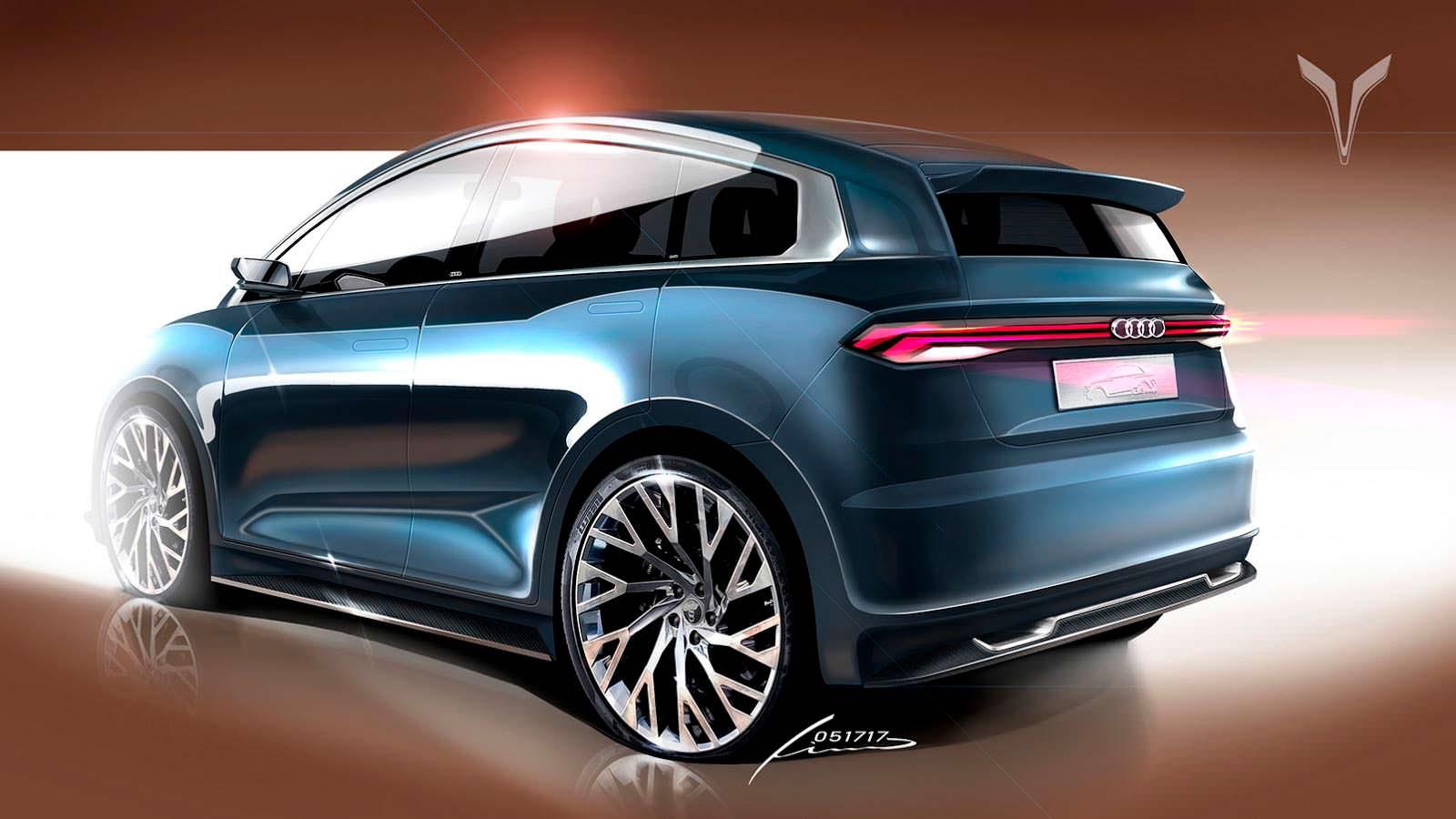 2018 Audi A2 второго поколения. Неофициально от Pino Cazzetta