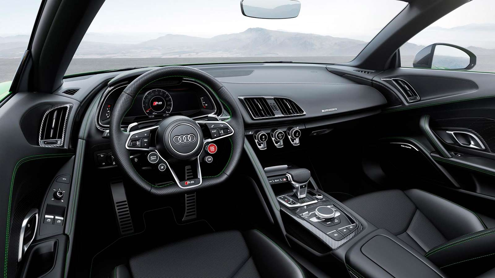 Фото салона Audi R8 Spyder V10 Plus 2017