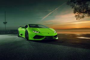 Тюнинг Lamborghini Huracan Spyder N-Largo от Novitec