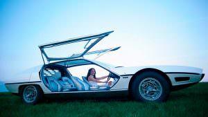 Lamborghini TP200 Marzal. Двери типа крылья чайки