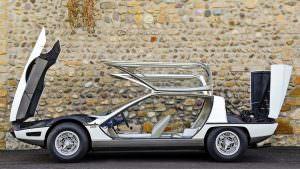 Lamborghini TP200 Marzal. Двери крылья чайки