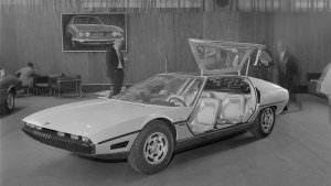 Фото 1967 года Lamborghini TP200 Marzal