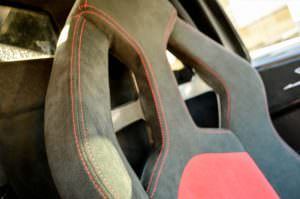 Спортивные сиденья из алькантары Lamborghini Murcielago SV