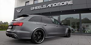 Тюнингованный универсал Audi RS6 от Wheelsandmore