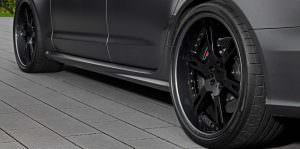 22-дюймовые легкосплавные колеса Audi RS6 от Wheelsandmore