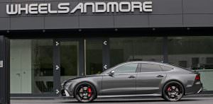 Хэтчбек Audi RS7. Тюнинг от Wheelsandmore