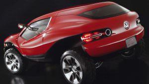 Купе-кроссовер Volkswagen Concept T 2004 года