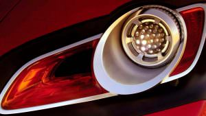 Дизайн фар Volkswagen Concept T 2004 года