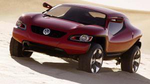 VW Concept T. Детройтский автосалон 2004 года