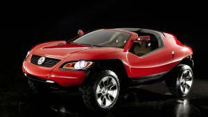 Купе-кроссовер Volkswagen Concept T. 2004 год