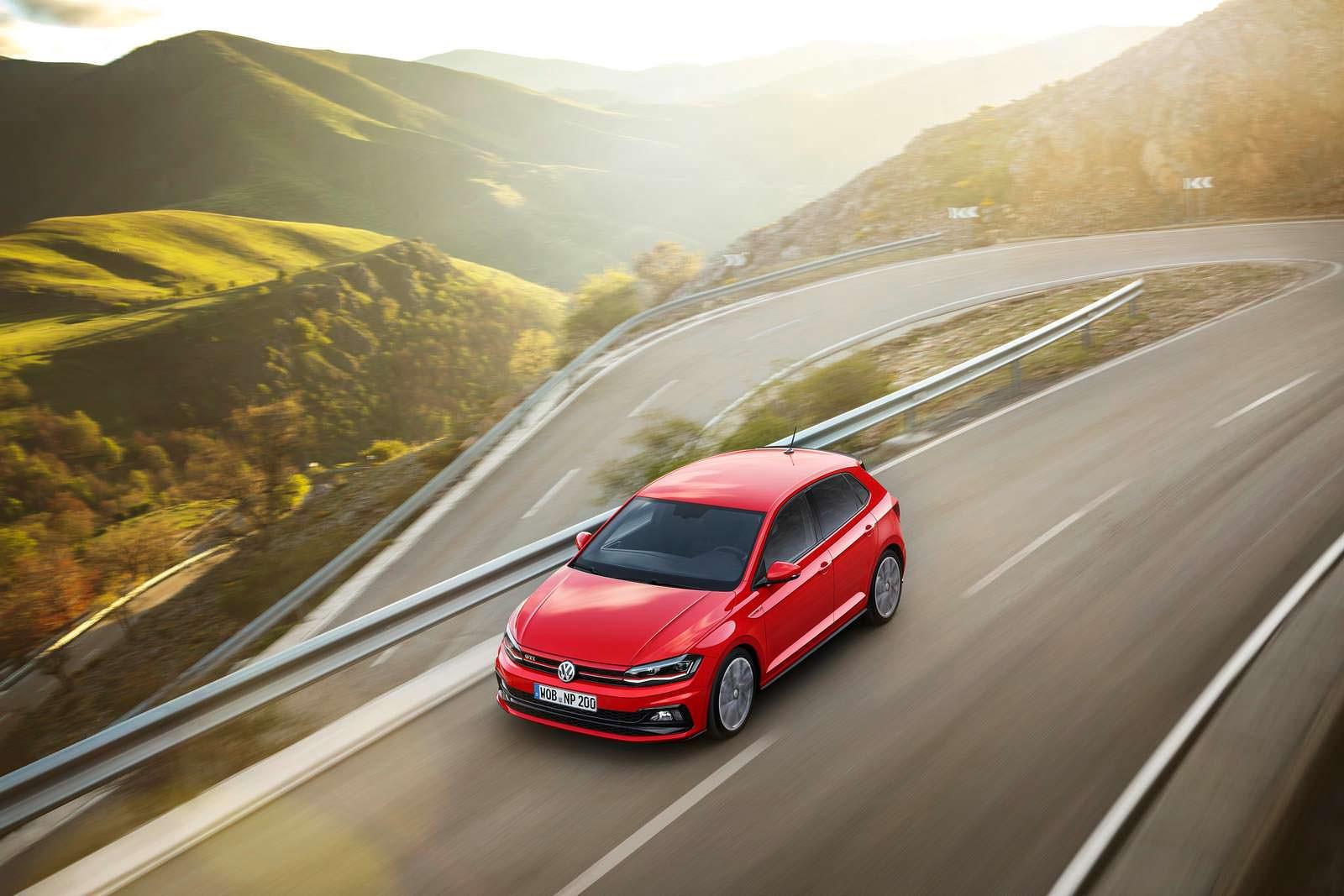 Новый VW Polo GTI. 2018 модельный год