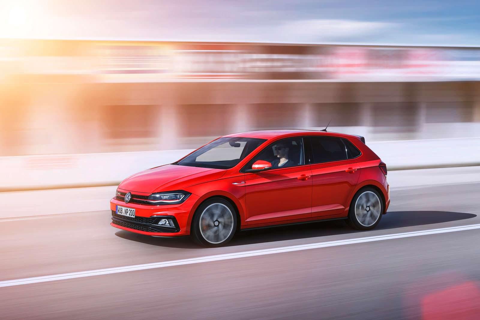Новое поколение VW Polo GTI. 2018 модельный год