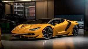 Фото   Lamborghini Centenario Nuovo Giallo Orion