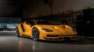 Lamborghini Centenario. #3 в США
