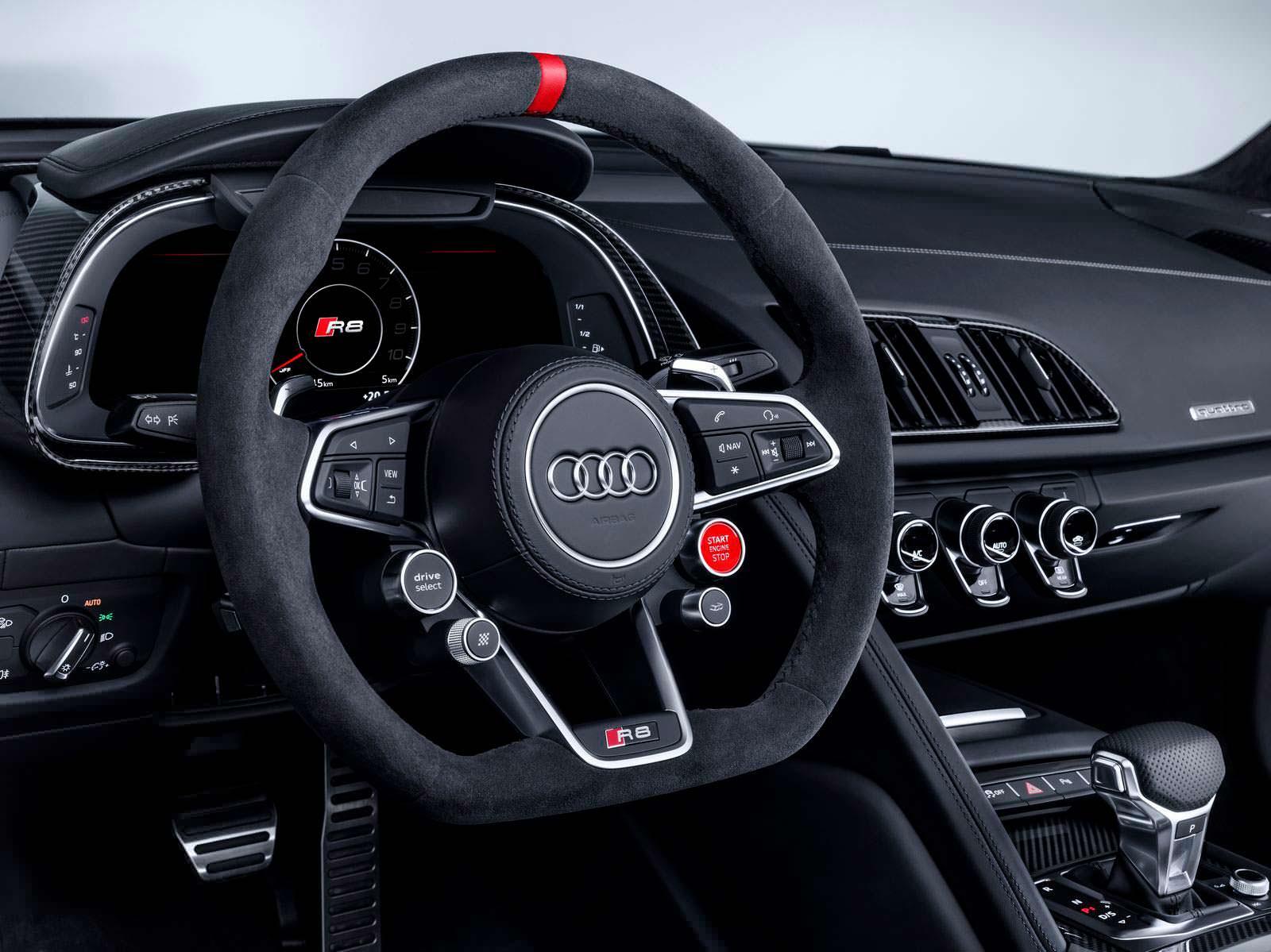 Фото салона Audi R8 Performance