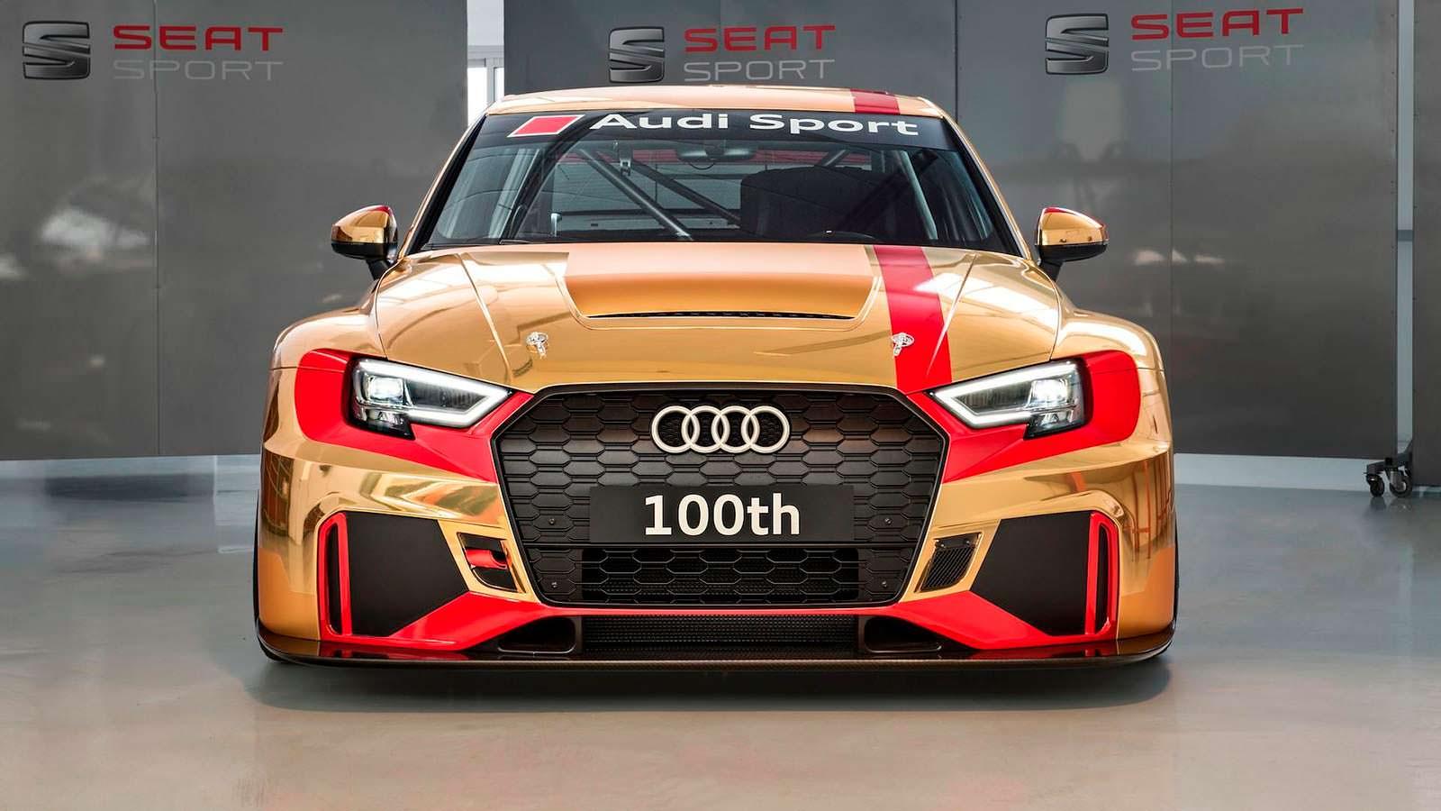 100-я Audi RS3 LMS