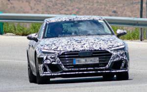 Новая Audi S7 Sportback в камуфляже