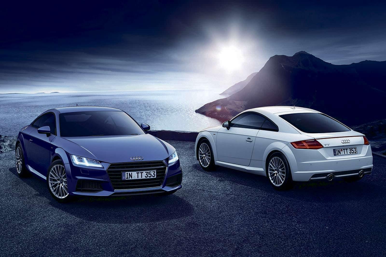 Audi TT 1.8 Lighting Style Edition специально для Японии