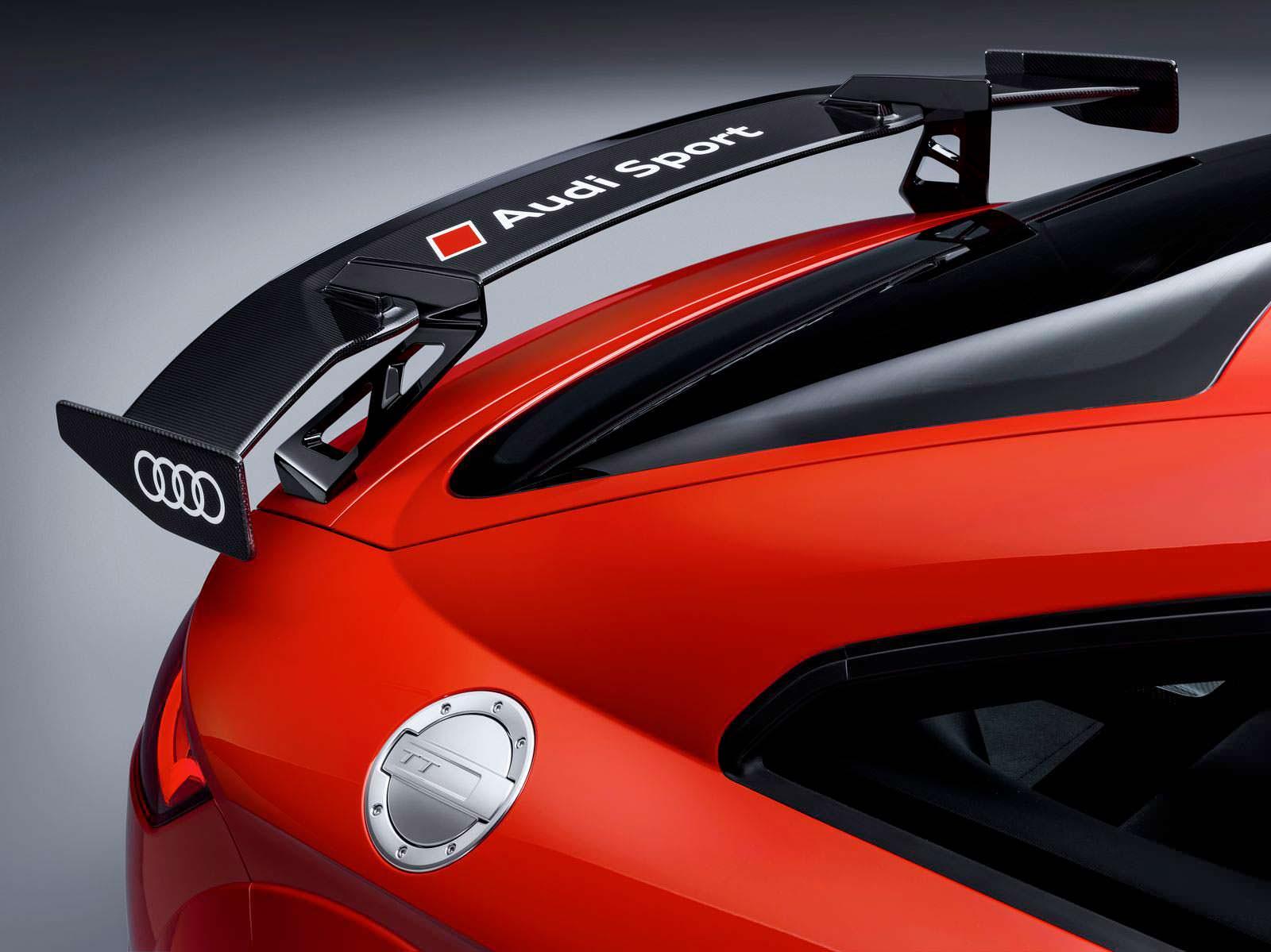 Карбоновое антикрыло Audi TT RS Performance