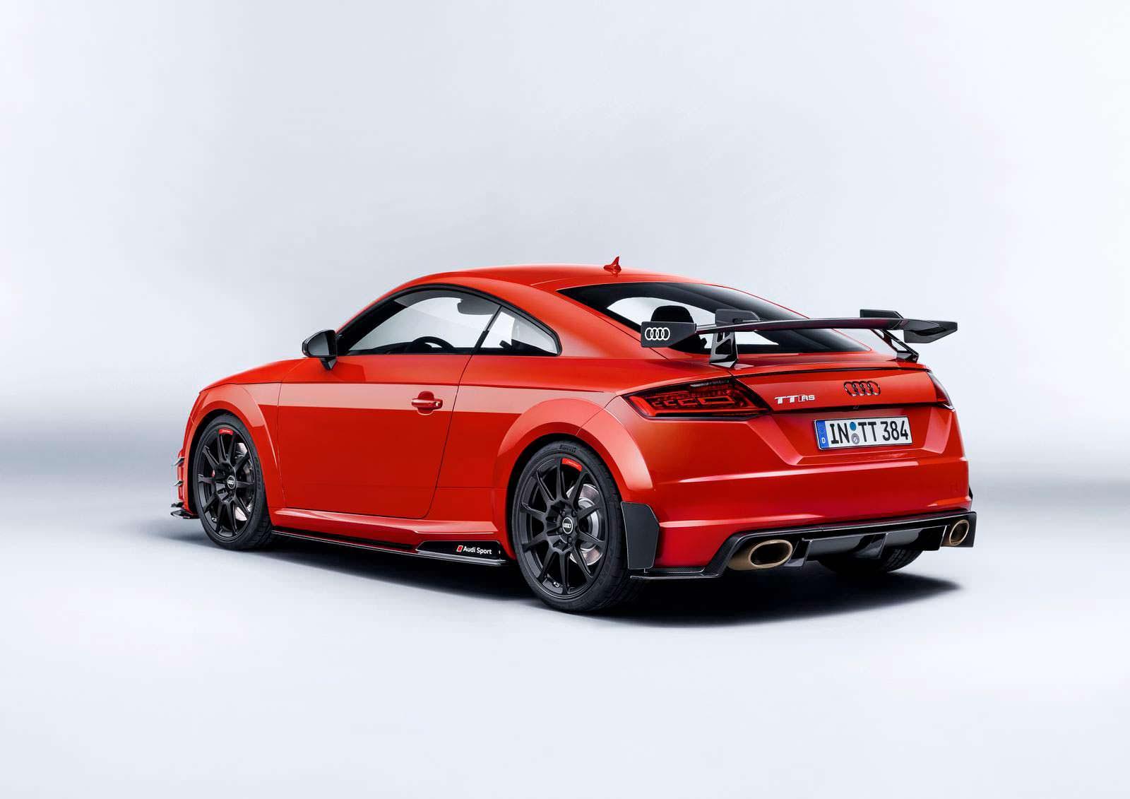 Новая Audi TT RS Performance