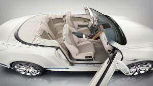 Фото салона Bentley Continental GTC Galene от Mulliner