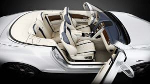 Схемы интерьера Bentley Continental GT Timeless Series