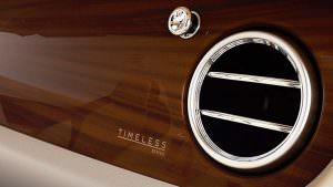 Янтарный шпон в салоне Bentley Continental GT Timeless Series