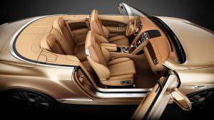 Четырехместный кабриолет Bentley Continental GT Timeless Series
