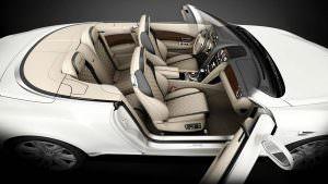Шикарный интерьер Bentley Continental GT Timeless Series