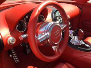Фото салона Bugatti Veyron Grand Sport