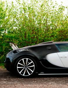 Bugatti Veyron Linea Vivere от Mansory. 2007 год выпуска