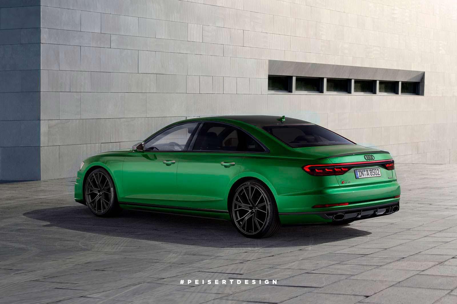 Фото | Audi RS8. Неофициально от PeisertDesign
