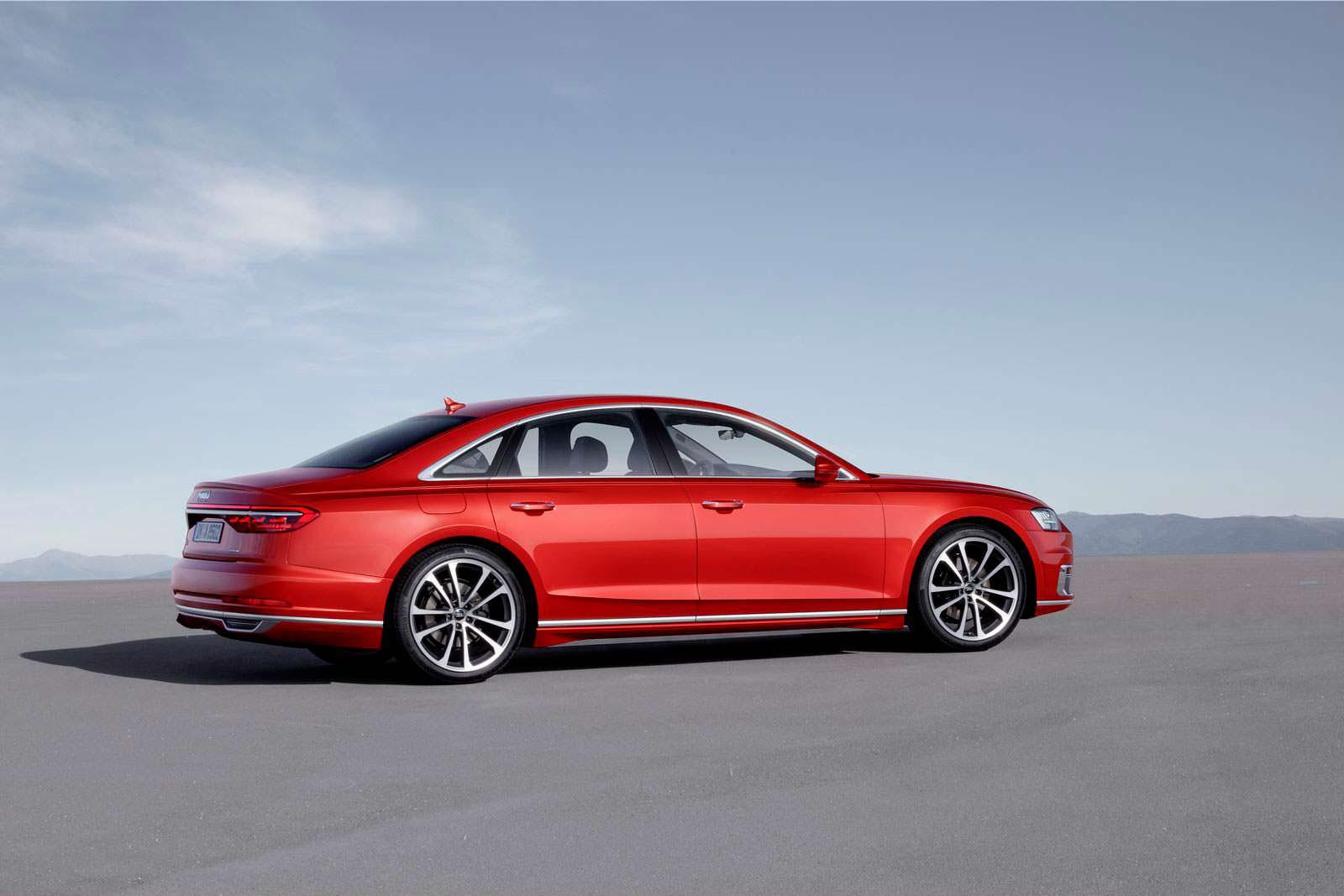 Audi A8 нового поколения