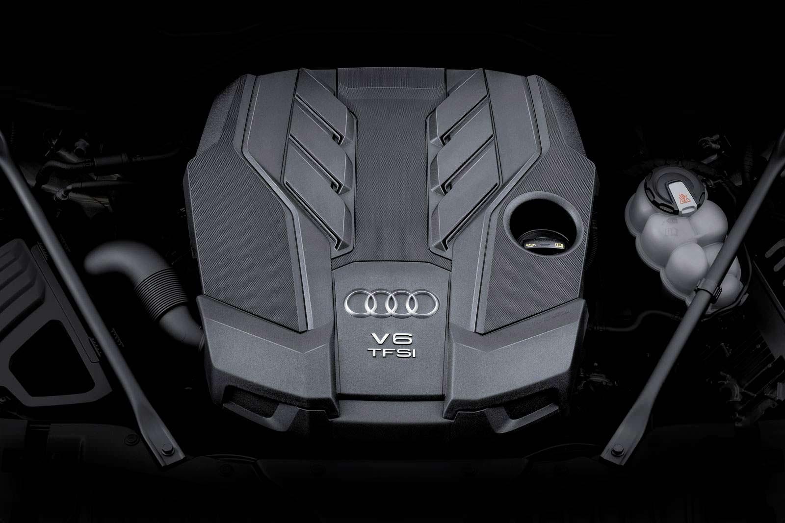 Двигатель V6 TFSI под капотом Audi A8 2018