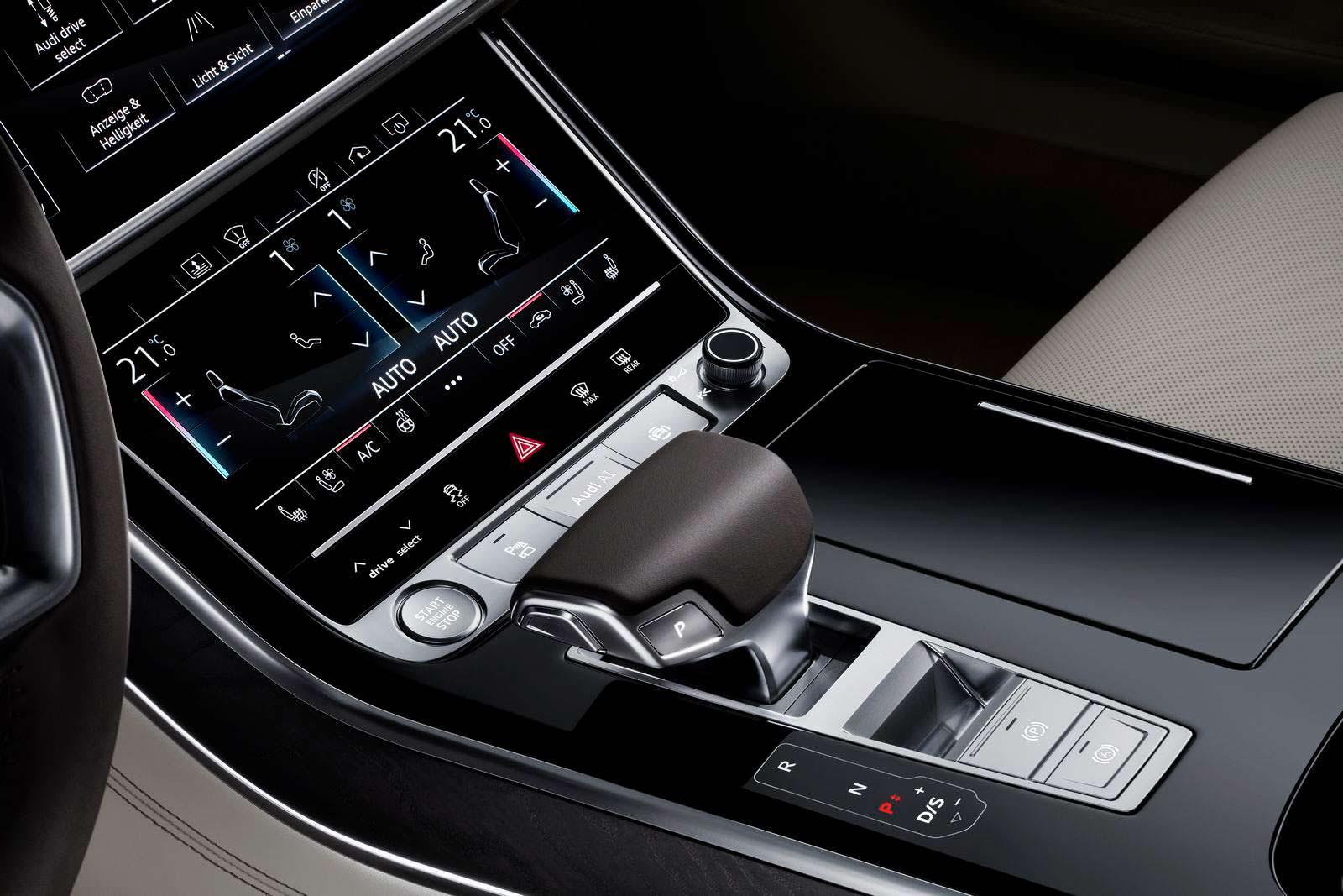 Блок климат-контроля Audi A8 2018