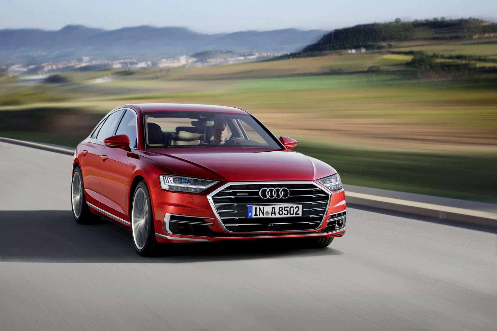 Новая Audi A8 в кузове D5
