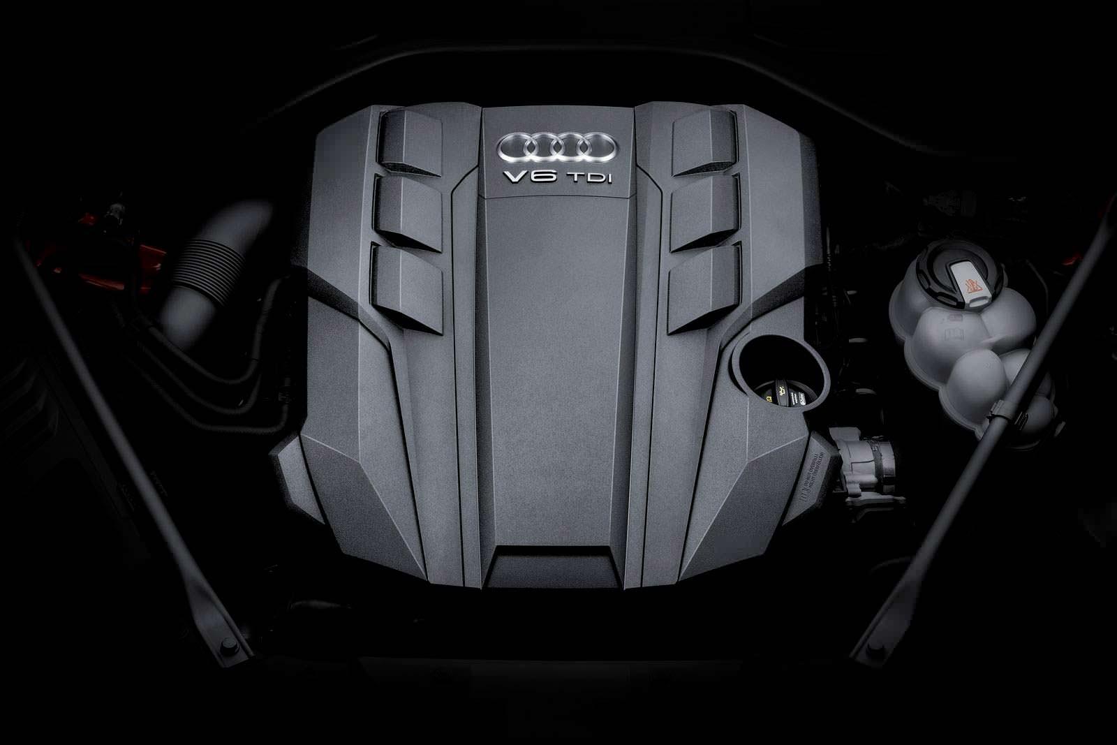 Двигатель V6 TDI под капотом Audi A8 2018