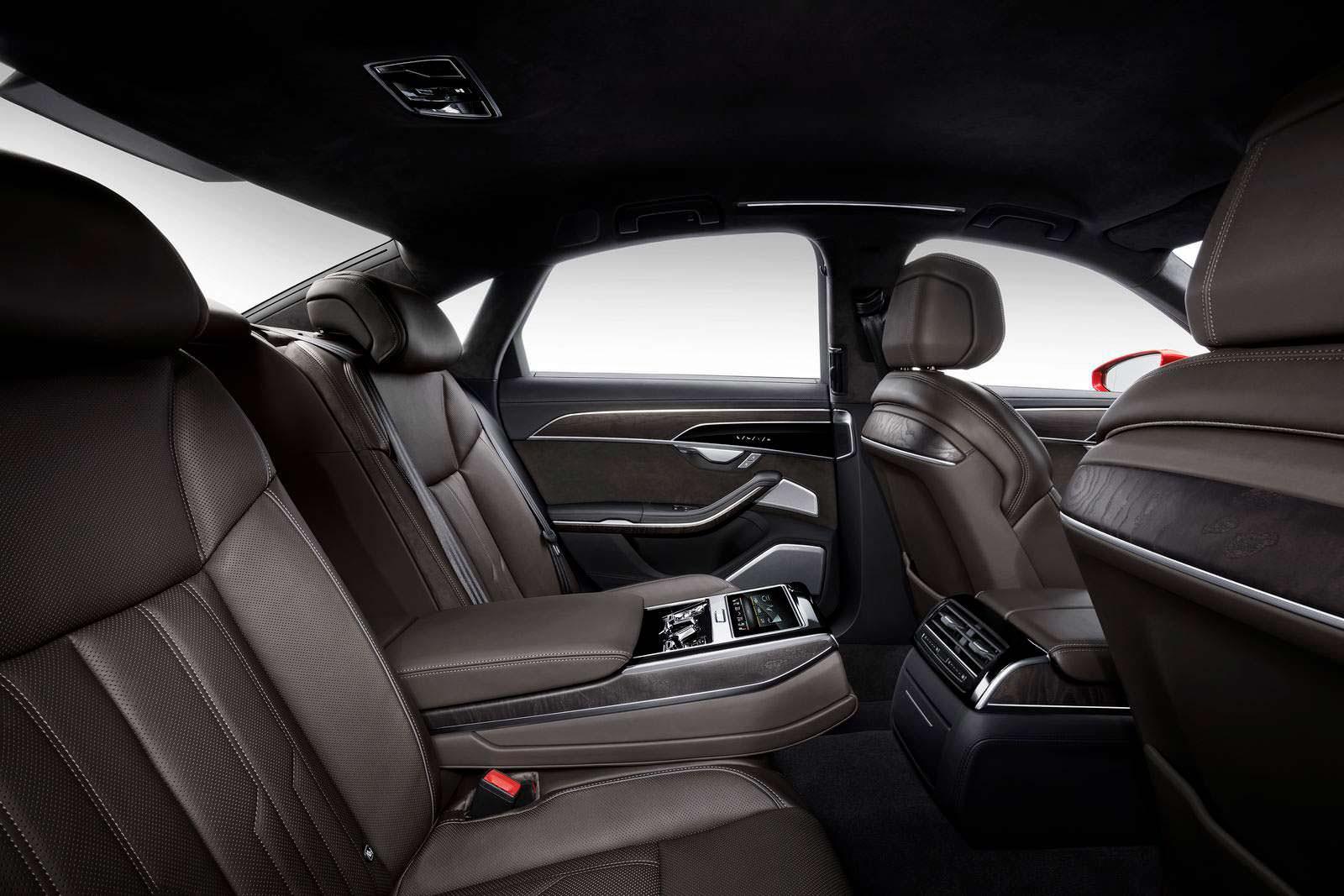 Задние сиденья Audi A8 2018
