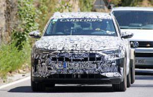 Первый электрокар Audi E-Tron Quattro на дорожных испытаниях