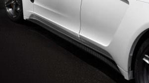 Карбоновые пороги для Porsche Panamera от TopCar