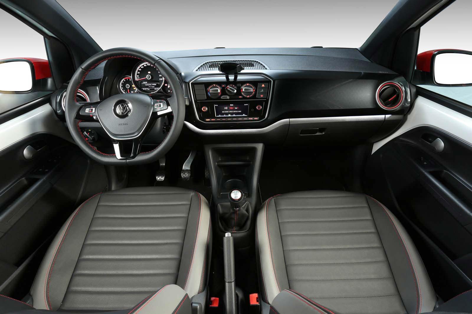 Фото салона Volkswagen up! Pepper